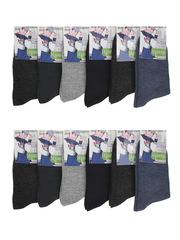 A01 носки детские (12 шт), цветные