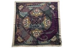 Шерстяной красивый женский разноцветный платок (0103 PLATOK 8)