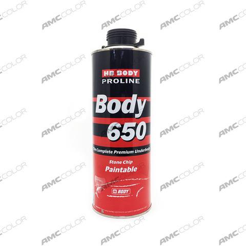 Антикор НВ Body 650 (ЧЕРНЫЙ) 1л