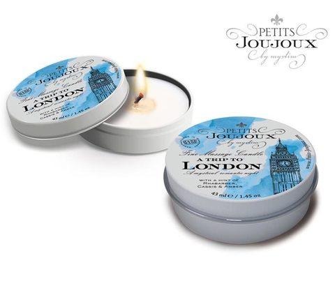 Массажная свеча - PETITS JOUJOUX LONDON свежесть 33 гр.