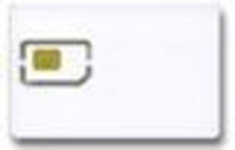 Чип OKI B2500 - смарт-карта для тонер-картриджа.