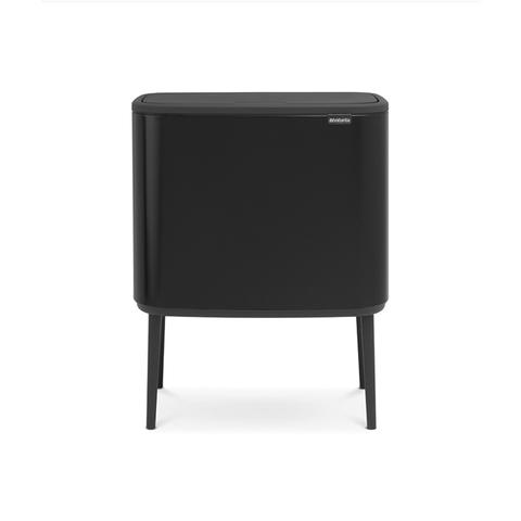 Мусорный бак Touch Bin Bo (36 л), Черный матовый, арт. 315824 - фото 1