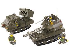 Конструктор серия Армия Бронетанковая группа