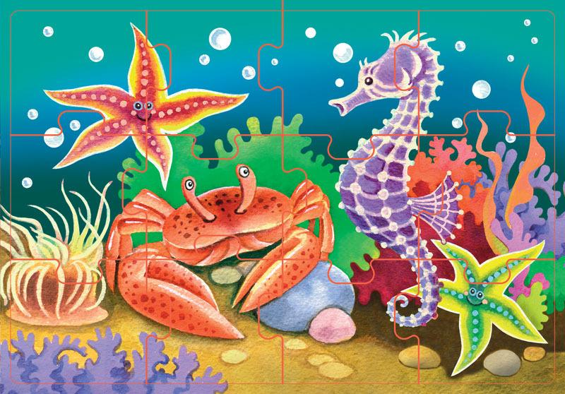 Картинки с морскими животными для детей, мая