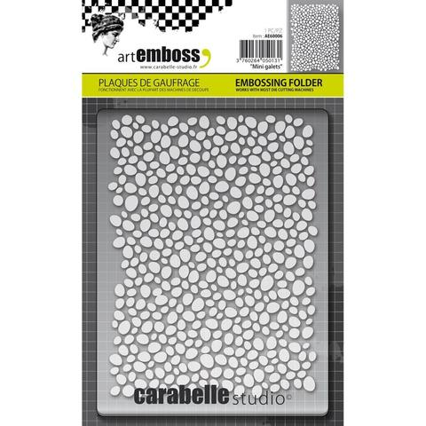 Папка для тиснения Carabelle Studio Embossing Folder-  Mini Galets