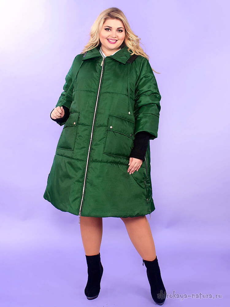 Зимняя куртка Greenway зеленый