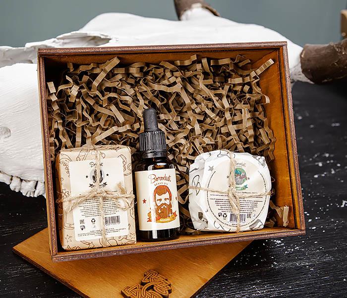 Набор средств «Borodist» для ухода за бородой, телом и волосами фото 02