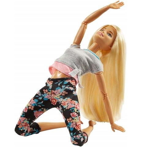 Барби в сером топе Блондинка. Безграничные движения
