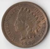 K7150, 1908, США, 1 цент