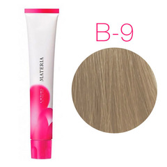Lebel Materia 3D B-9 (очень светлый блондин коричневый) - Перманентная низкоаммичная краска для волос