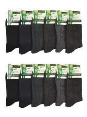 T05 носки мужские, цветные 41-47 (12шт.)