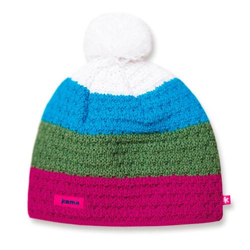 Женские шапки Шапка с помпоном Kama A50 (Pink) 07556afafb26ea1f236e4ed8c2b35dcf.jpg