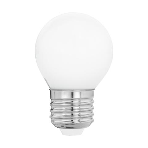 """Лампа  Eglo филаментная """"Милки"""" опал. стекло LM LED E27 G45 2700K 11605"""