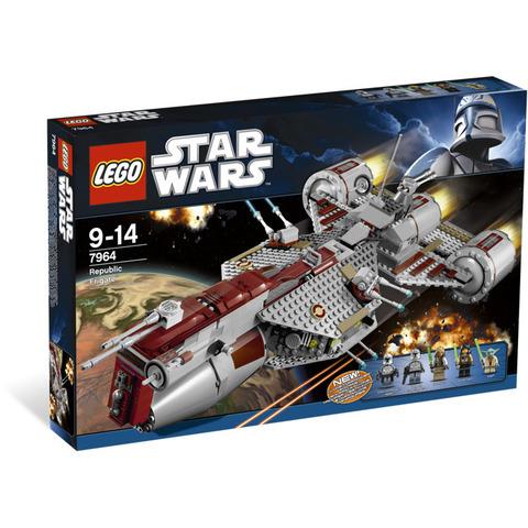 LEGO Star Wars: Республиканский фрегат 7964 — Republic Frigate — Лего Звездные войны Стар Ворз