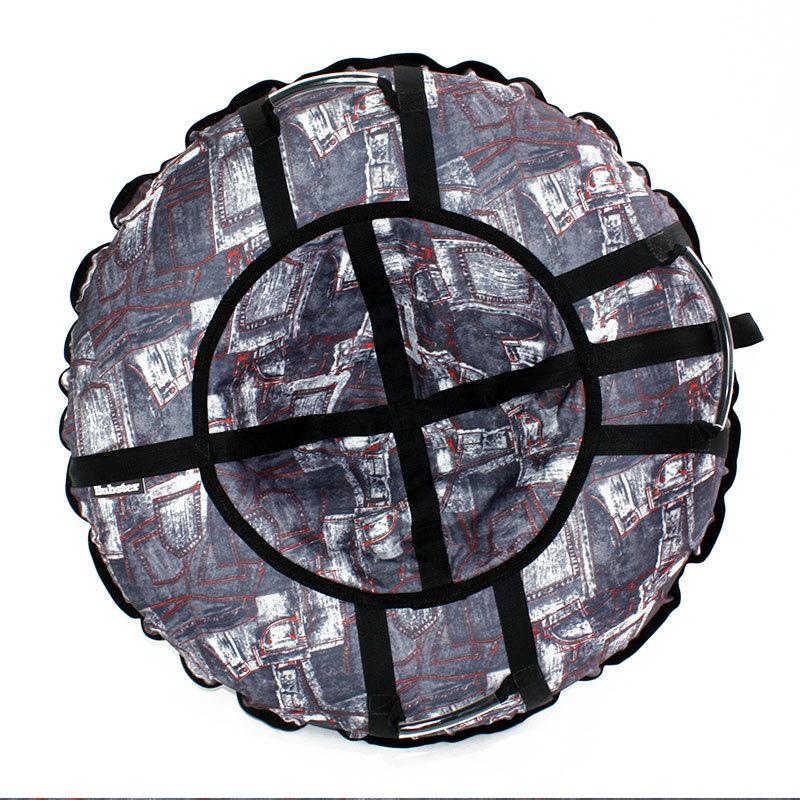 Тюбинг санки-ватрушка Hubster Люкс Pro Джинса - Тюбинги, артикул: 931303