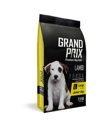 Grand Prix Large Junior сухой корм для щенков крупных пород (с ягненком) 2,5кг