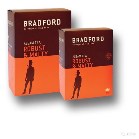 Чай BRADFORD Ассам Стандарт-963 (чёрный, крупнолистовой)  100 г