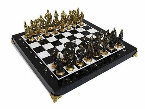 Шахматы из бронзы