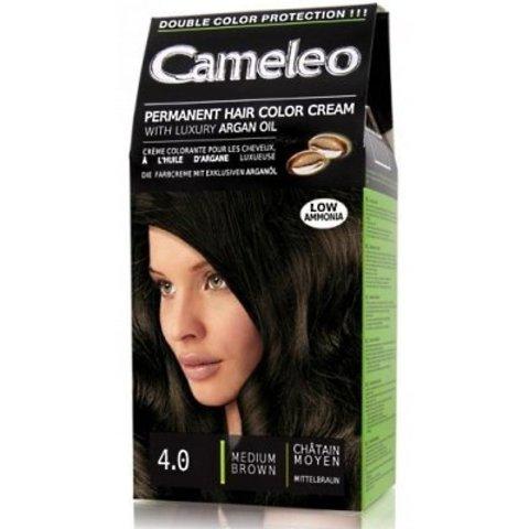 Delia Cosmetics Cameleo Kрем-краска для волос тон 4.0 средний коричневый