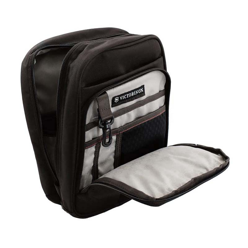 Мини-рюкзак Victorinox Flex Pack, чёрный, 22x10x29 см, 6 л