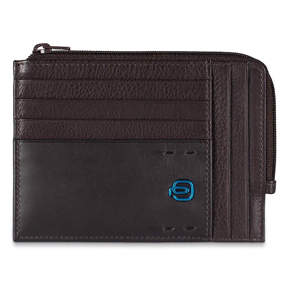 Чехол для кредитных карт Piquadro Pulse, цвет коричневый, 12х9х1 см (PU1243P15/M)