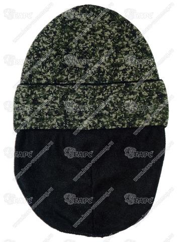 Шапка с флисовой подкладкой Пиксель