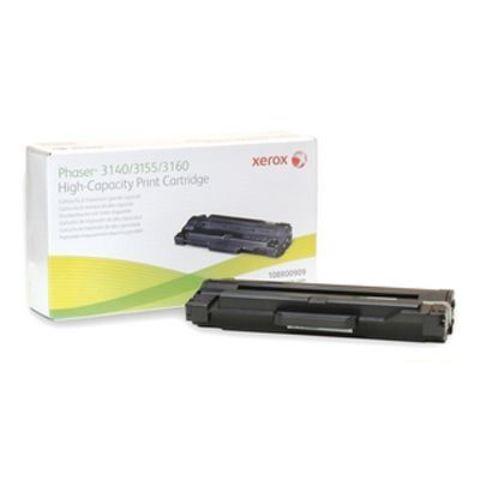 Картридж Xerox Phaser 3140, 3155, 3160 увеличенной емкости - 108R00909 (черный, 2500 стр.)