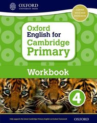 Oxford English for Cambridge Primary Workbook 4