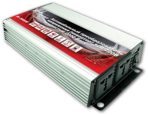 Преобразователь тока (инвертор) 12/220V AVS IN-2000W