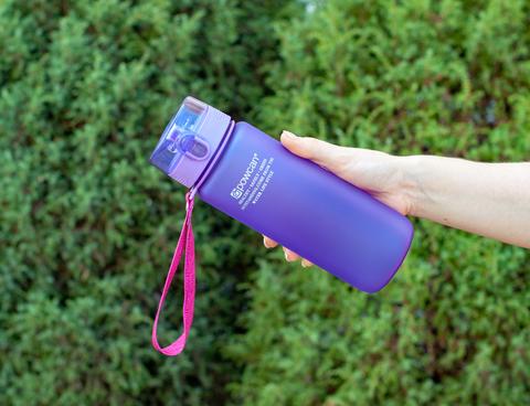 Бутылка POWCAN - 800 мл. матовая - Фиолетовый