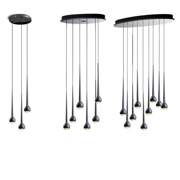 replica tobias grau falling waters 9 lamps. Black Bedroom Furniture Sets. Home Design Ideas