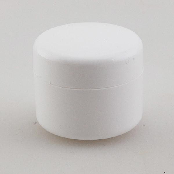 Банка-термос для крема белая
