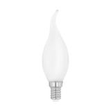 """Лампа  Eglo филаментная """"Милки"""" опал. стекло LM LED E14 CF35 2700K 11603 1"""