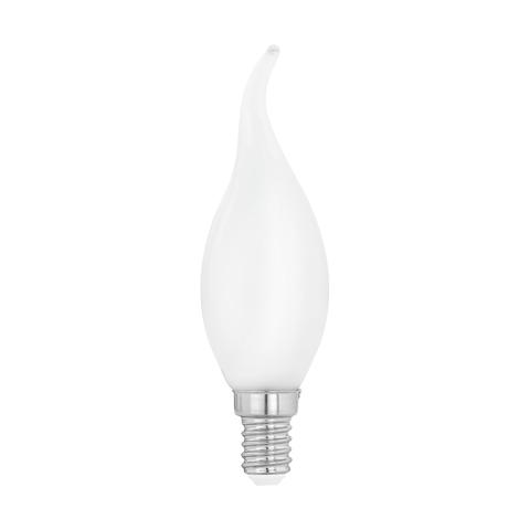 """Лампа  Eglo филаментная """"Милки"""" опал. стекло LM LED E14 CF35 2700K 11603"""