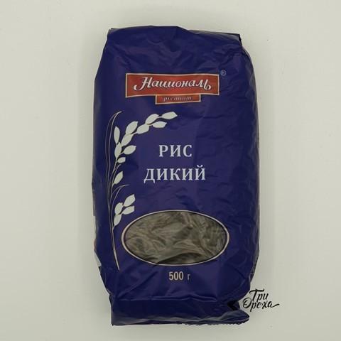 Рис дикий длиннозёрный premium НАЦИОНАЛЬ, 500 гр