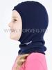NORVEG SOFT детская шлем-маска с шерстью мериносов для девочек
