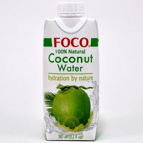 Вода кокосовая Foco, 0,33л