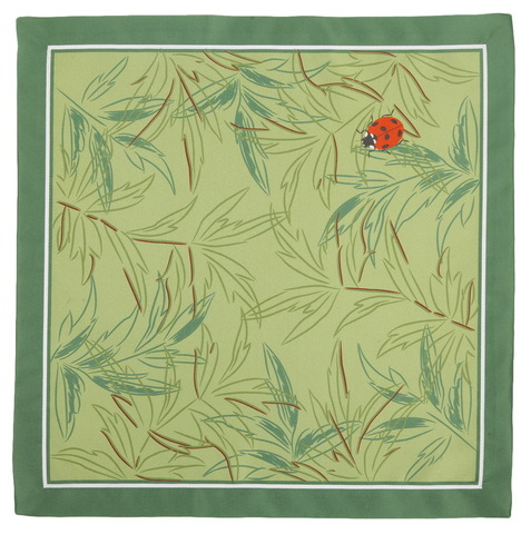 Салфетки 4 шт 40x40 Blonder Home Eteri зеленые