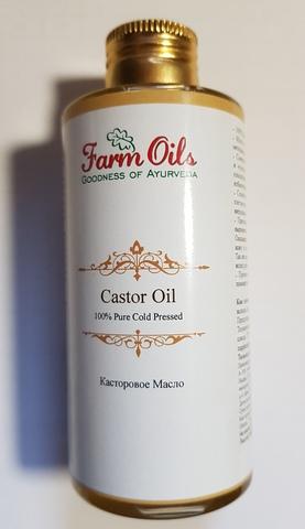Касторовое масло холодного отжима, 150 мл (Индия)