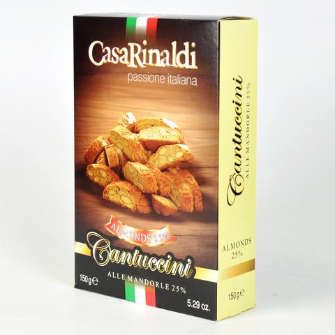 Печенье Casa Rinaldi Кантучини с миндалём 150 г