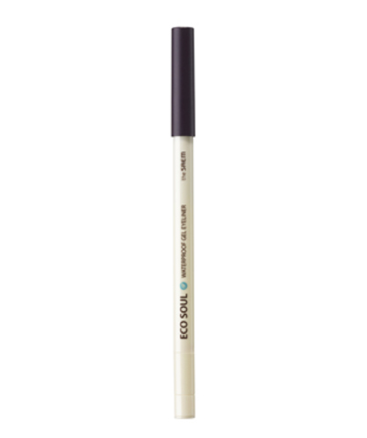 THE SAEM EYE Карандаш для глаз водост. гелевый 12 Eco Soul Waterproof Gel eyeliner 12 Dawning Dark Purple 0.5гр