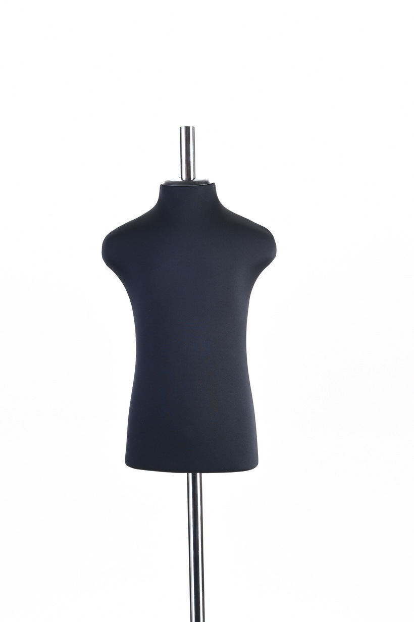 Портновский манекен мальчика 40 размер ОСТ (черный)