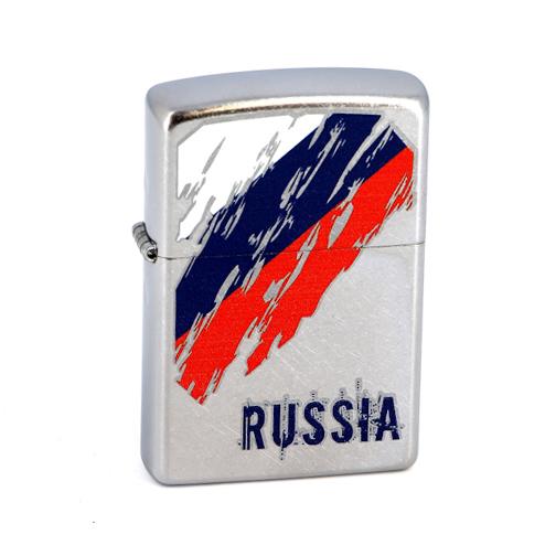 Зажигалка Zippo №207 Russia Flag