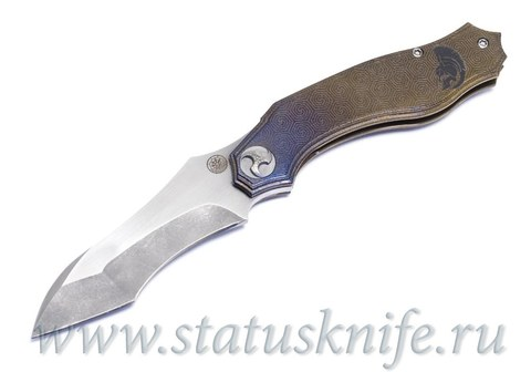 Нож Glenn Waters Custom One Off Titan Flipper