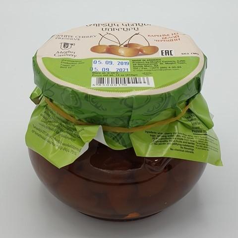 Варенье из белой черешни MEGHRICA, 410 гр