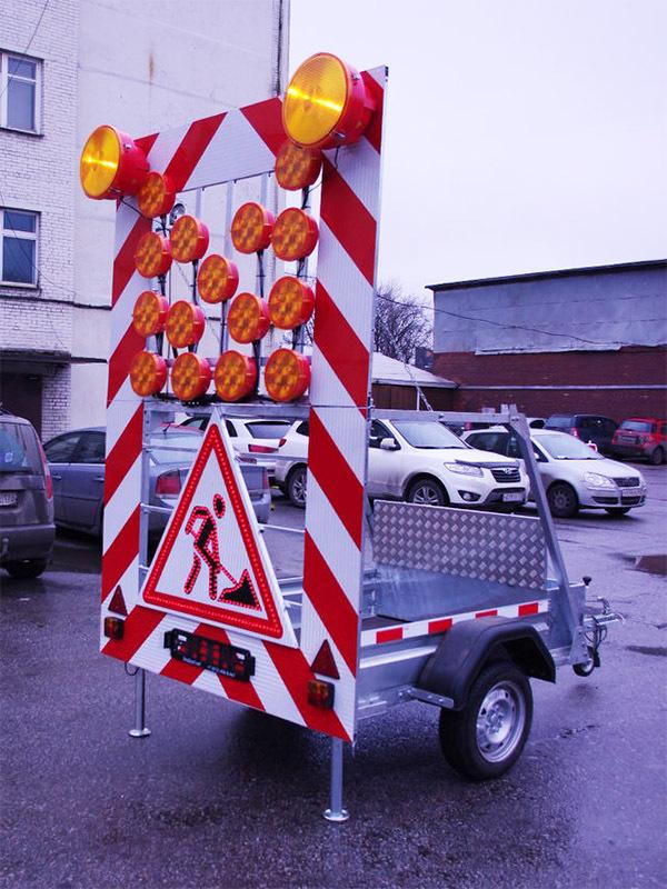 Предупреждающий прицеп FA-2 616
