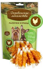 Деревенские лакомства для собак мини-пород Палочки куриные 60гр