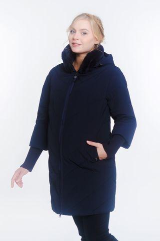 Куртка для беременных 07885 синий