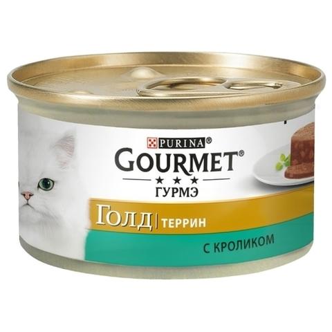 Корм для кошек Gourmet (0.085 кг) 1 шт. Gold Кусочки в паштете