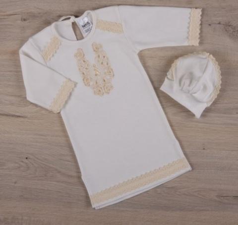 Рубашка для крещения мальчика Чарівність